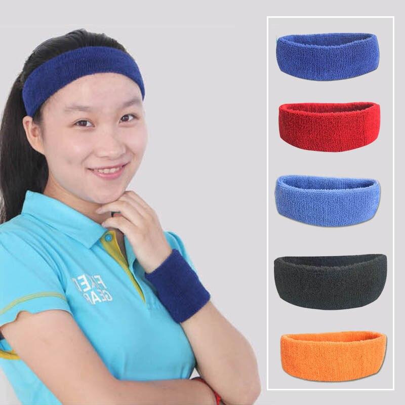 Orange Sweat Towels: High Quality Cotton Towel Cloth Sports Sweatband Yoga Hair