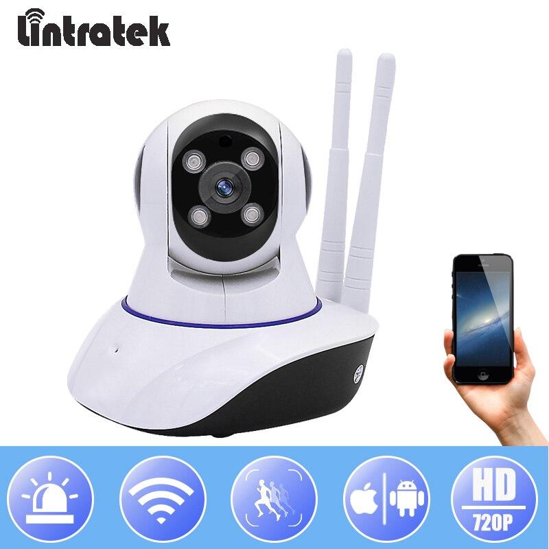 Lintratek Surveillance IP Camera WiFi HD 720P Mini Security PTZ Camera CCTV Wireless Home Baby Monitor Onvif IP Cam
