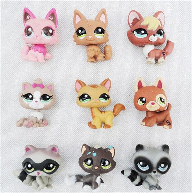 Original Littlest Pet Shop 10 Different Pcsset Pvc 5cm Action