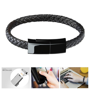 Image 3 - Sports Portable Wireless Quick Charger Usb Bracelet Charger Date Cable For Apple iphone cable Xs max Xr X 8 7 6 5 s plus ipad