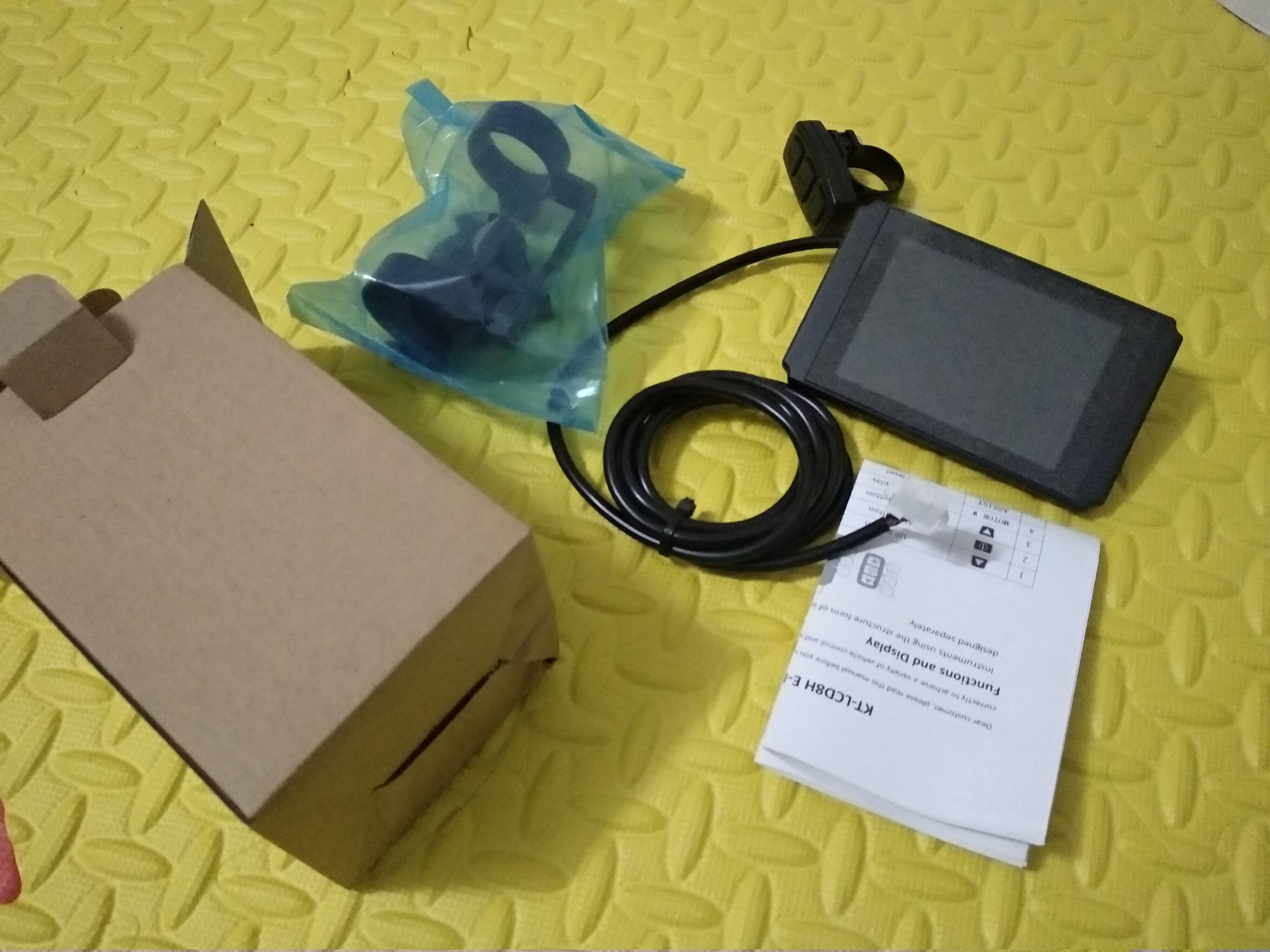 Купить с кэшбэком ecran De Controle Velo Electrique 60V Intelligent KT LCD8H LCD8H ktlcd8h
