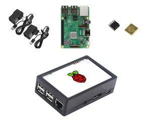 Image 1 - Raspberry Pi Modelo 3 B + Kit de inicio con 3,5 pulgadas 128 M SPI LCD pantalla potencia disipador de calor