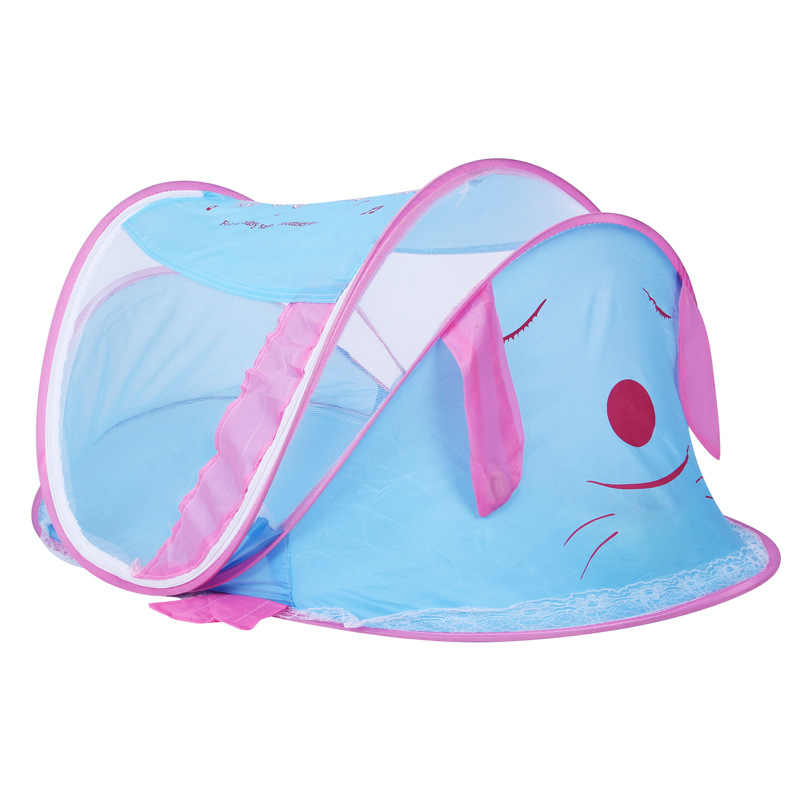 Multi-Function Portable Baby Diaper Mummy Bag Folding Bed Nursery Crib Explosion Models Support Music a Little Tent Baby