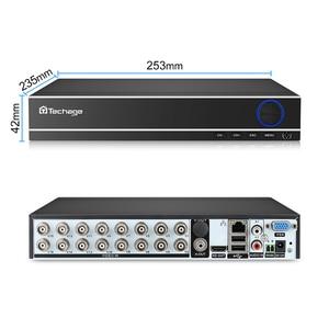 Image 3 - Techage H.264 16CH 1080N AHD CCTV DVR NVR P2P Cloud sécurité enregistreur vidéo numérique pour 1080P HDMI vidéo analogique AHD caméra IP