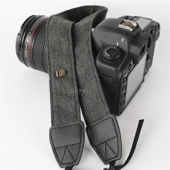 Retro Elegant Durable Cotton Leather Adjustable Camera DSLR Strap Shoulder Neck Soft Belt for Canon Nikon Sony Pentax SLR Camera Strap