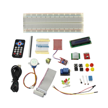 Elecrow Basic Starter Kit for Raspberry Pi 3 Model B Beginners Kit 21 Kinds of Components IR Receiver Sensor,Switch With Box