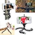 Universal pulpo mini trípode flexible gorillapod trípode stander para gopro cámara iphone 6 6 s samsung android teléfono