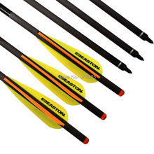 """6 pieces 20"""" Easton Crossbow Bolts Carbon Arrows Archery Hunting Shooting Straightness +/-0.001"""""""