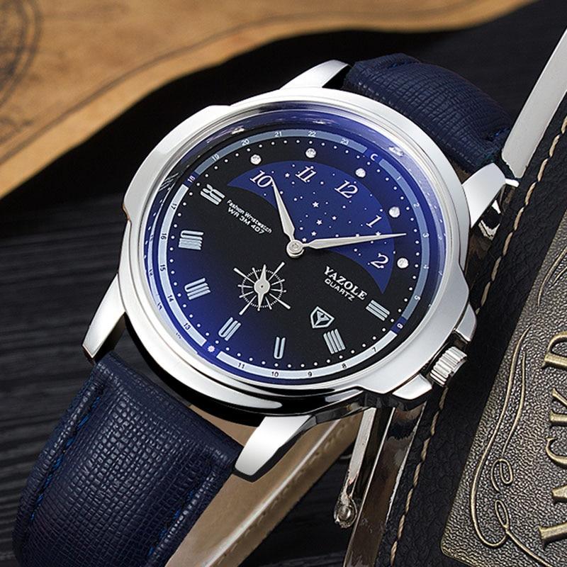 YAZOLE Fashion Creative Wrist Watch Mens Watches Top Brand Luxury Men's Watch Men Watch Clock relogio masculino reloj hombre все цены