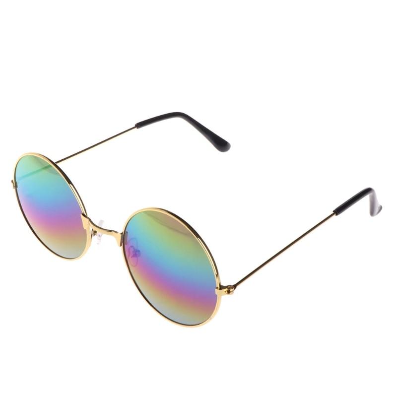 Мужские и женские универсальные очки для вождения автомобиля, анти-светильник, модные очки - Цвет: F