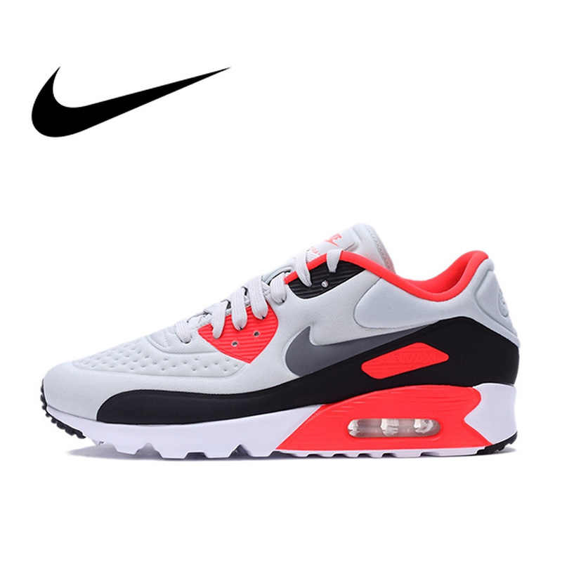 957a975bc58 Original Authentic NIKE AIR MAX 90 ULTRA SE Men s Running Shoes Sport  Outdoor Sneakers Comfortable Breathable