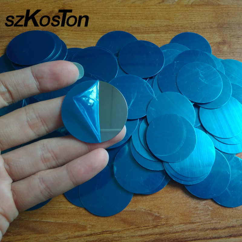 10pcs/5pcs/lot Metal Plate Disk Iron Sheet For Magnet Car Mobile Phone Holder Metal Iron Plate For Magnetic Car Phone Holders