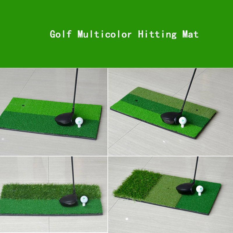 4 Models 60x30cm Indoor Outdoor Protable Golf Hitting Mat Factory Mini Golf Practice Putting Green with Free Golf Tee/Ball