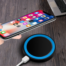 Mini Qi Wireless Charger USB Charge Pad Charging For iPhone X 8 8 Plus Samsung Galaxy S6 S7 Edge S8 Plus Note 5 8 Nokia suqy transparent qi wireless charger charging for iphone 8 samsung galaxy s6 edge plus s7 edge s8 s8 plus note 5 elephone p9000