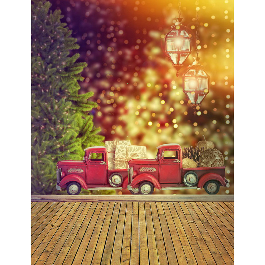 Fotografia holiday gifts red trucks Photography backdrops Christmas background for photo studio portrait shooting ashanks photography quadruple lamp softbox portrait shooting clothing studio background stand lights equipment