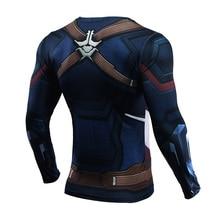 1c6959bc1bc85 (New) Infinity War: Captain America Compression Shirts (Regular Long Sleeve)