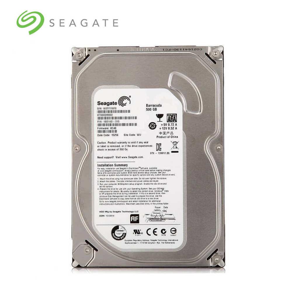 """Seالعقيق العلامة التجارية 500 GB حاسوب شخصي مكتبي 3.5 """"الداخلية الميكانيكية قرص صلب SATA 3 Gb/s-6Gb/s HDD 500 GB 7200 RPM 8 MB/32 MB العازلة"""