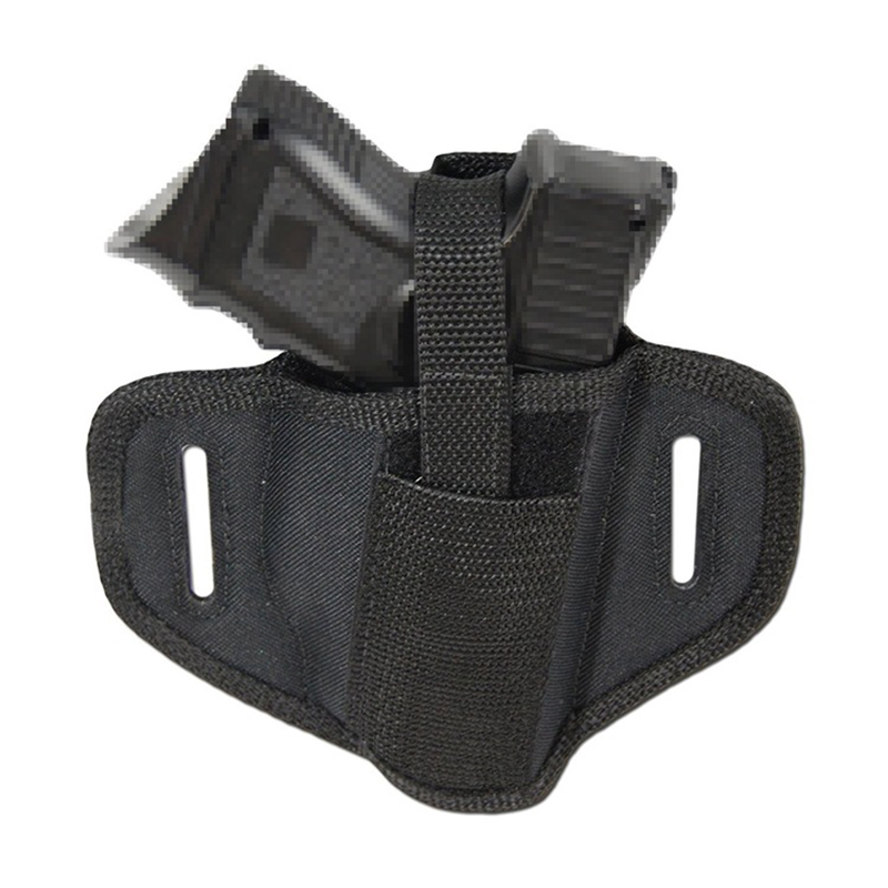 Nylon Handgun Belt Holster For Universal Compact Gun Tactical Left Right Hand Belt Holster Shooting Hunting Accessories