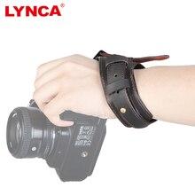 Cuero auténtico muñeca correa para todos SLR DSLR Canon Nikon Sony Panasonic 70d 80d d7200 d610 a7s