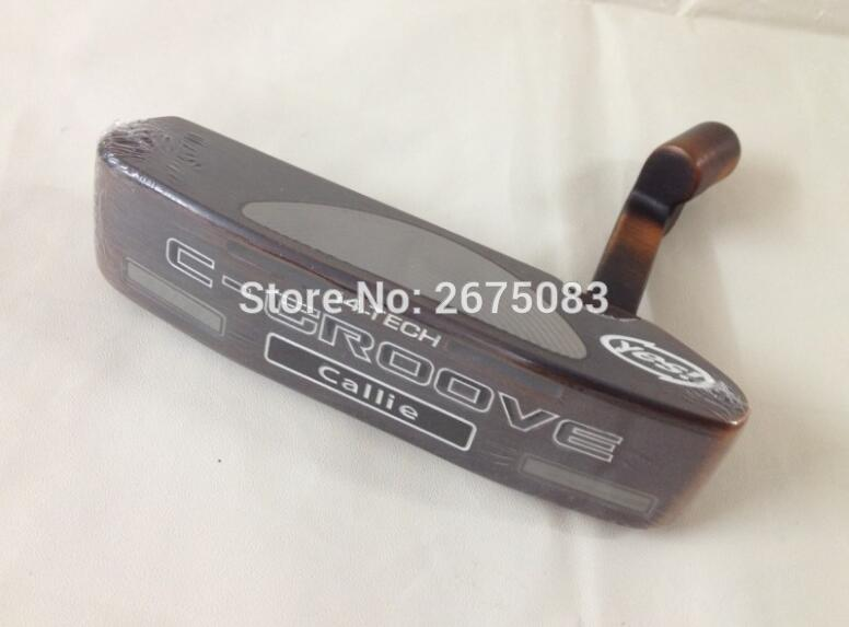 Authentic YES C - GROOVE Callie Copper Putter Head, Golf Putter