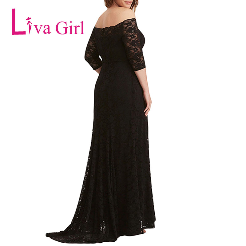 Detail Feedback Questions about LIVA GIRL Elegant Lace Plus Size ... 14a7bbaee9eb
