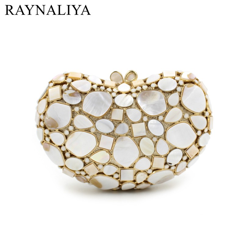 Women Clutch Bags Ladies White Party Shell Bag Female Black Gray Diamonds Minaudiere Clutches Purses Smyzh-e0117 new fashion women minaudiere fashion evening bags ladies wedding party floral clutch bag crystal diamonds purses smyzh e0122