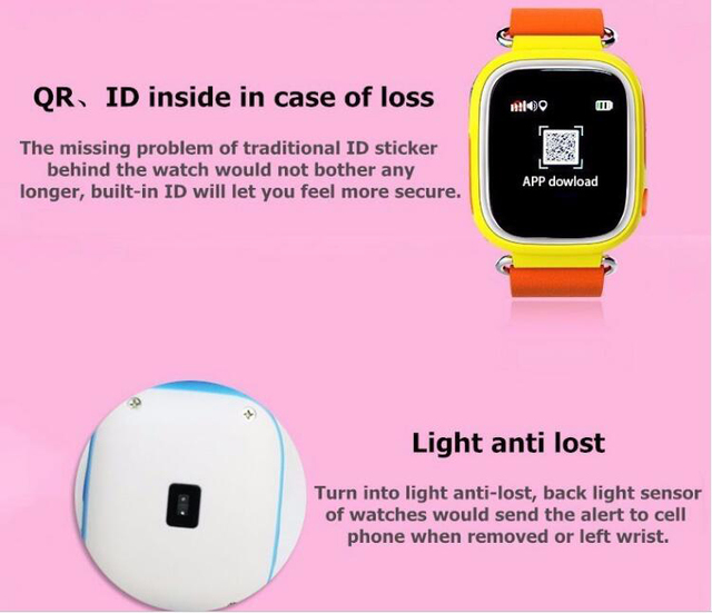 US $23 0  Smart watch kids 2017 q90 smart watch phone user manual with  cheap phone gps watch-in Smart Watches from Consumer Electronics on