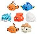 Tsum Tsum Finding Nemo Dory Bailey Destiny Hank Mr. Ray Crush Plush Kids Stuffed Animals Toys Smartphone Cleaner Children Gifts