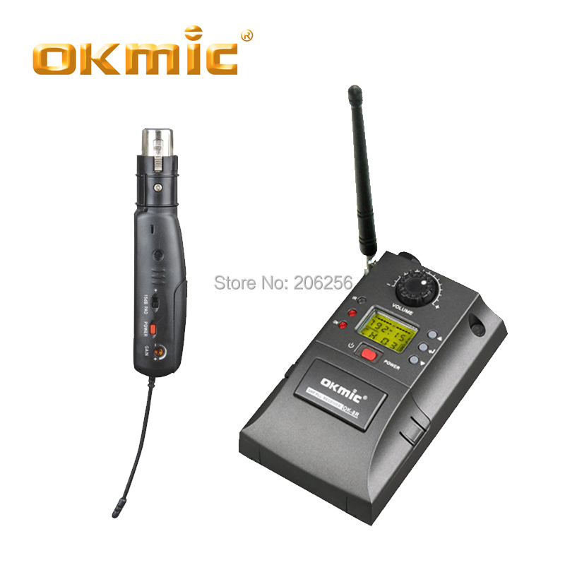 OKMIC OK 8R/AH15 mini transverter câblé en sans fil convertisseur et flexible XLR sans fil transmetteur de transfert-in Microphones from Electronique    1