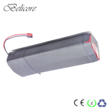 36 volt 250w 350w 500w e-bike battery 36v 10ah 12ah rear rack type electric bike lithium with luggage