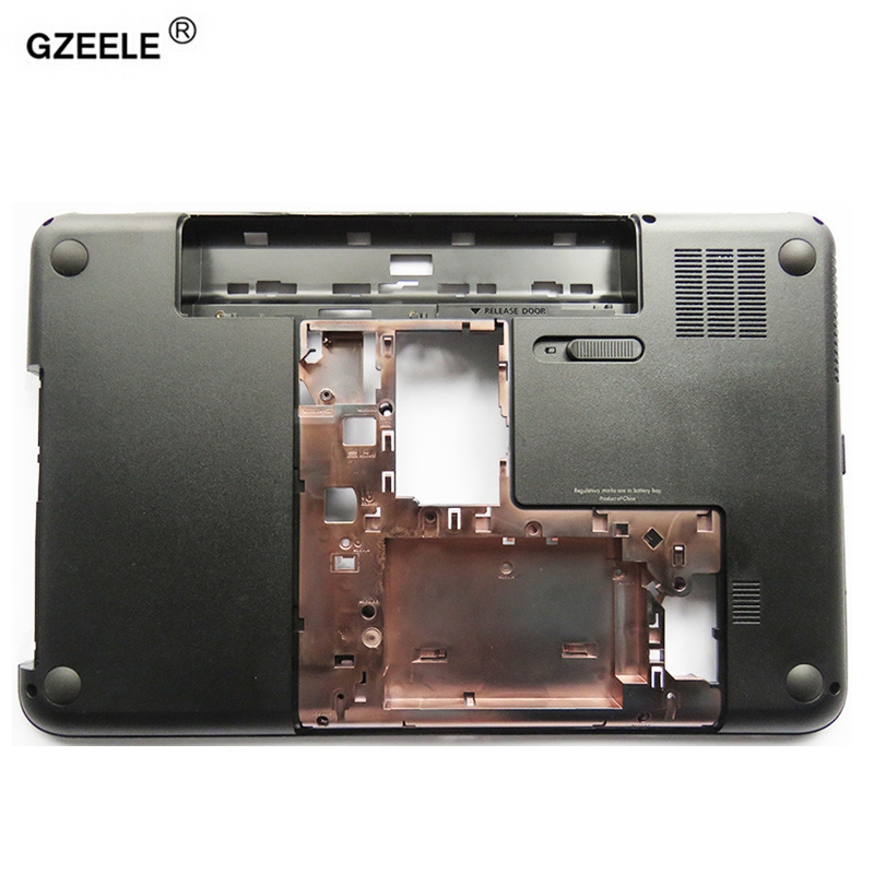 GZEELE New Laptop Bottom Base Case Cover For HP Pavilion G6 G6-2146tx 2147 g6-2025tx 2328tx 2001tx 15.6 Series Part  684164-001 new original orange for lenovo u330 u330p u330t touch bottom lower case base cover lz5 grey 90203121