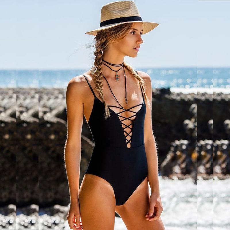 2f3dd9a612 Aliexpress.com : Buy Raintropical One Piece Swimsuit Women 2019 Sexy  Swimwear Female Push Up Bathing Suit Retro Beach Wear Print Halter Monokini  from ...