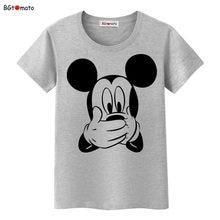 85283e83 BGtomato T shirt 3D cartoon funny T-shirt women Lovely design popular  Mickey tshirt Cheap