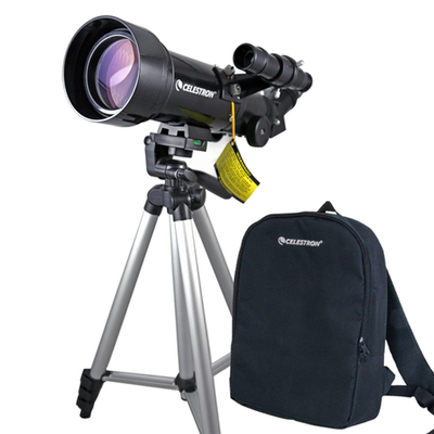 CELESTRON PowerSeeker 70400 Terrestrial Astronomical Compact Telescope Travel Scope 70x400 W/Bag телескоп celestron powerseeker 80 azs 21087
