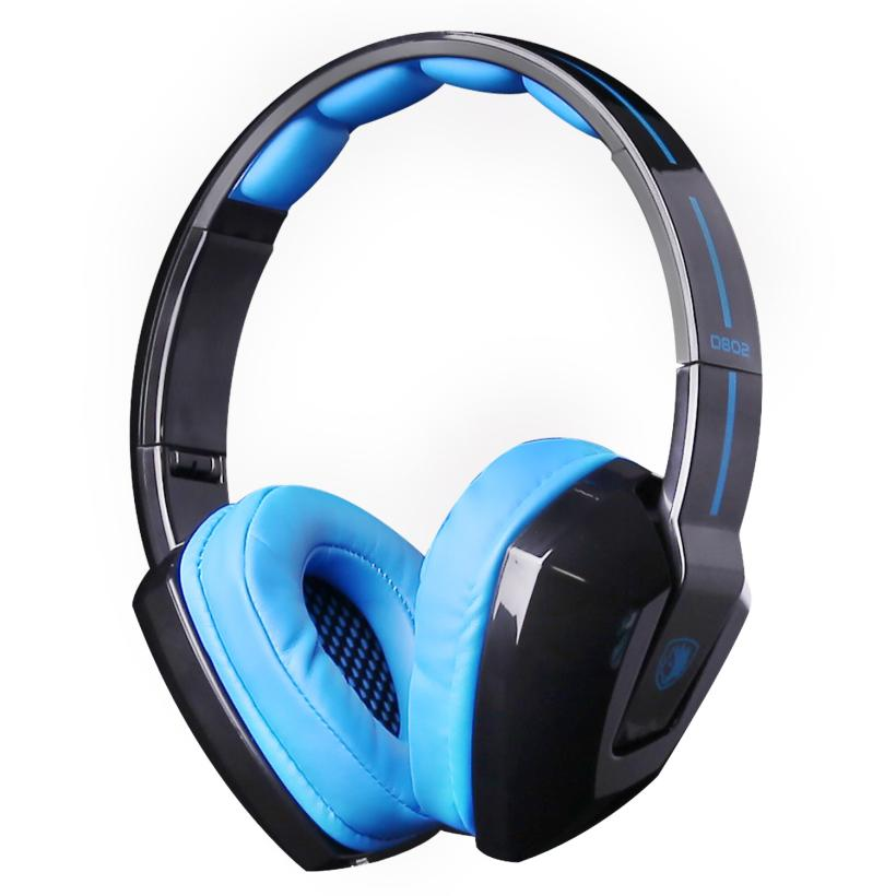 HL Sades Vibration sans fil Bluetooth casque de jeu pliable casque stéréo oct16