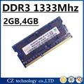 Venda de memória ddr3 de 4 gb 2 gb 8 gb 1333 sodimm pc3-10600 laptop, 4 gb ddr3 1333 pc3 10600 sdram notebook, memoria ram ddr3 4 gb 1333 mhz