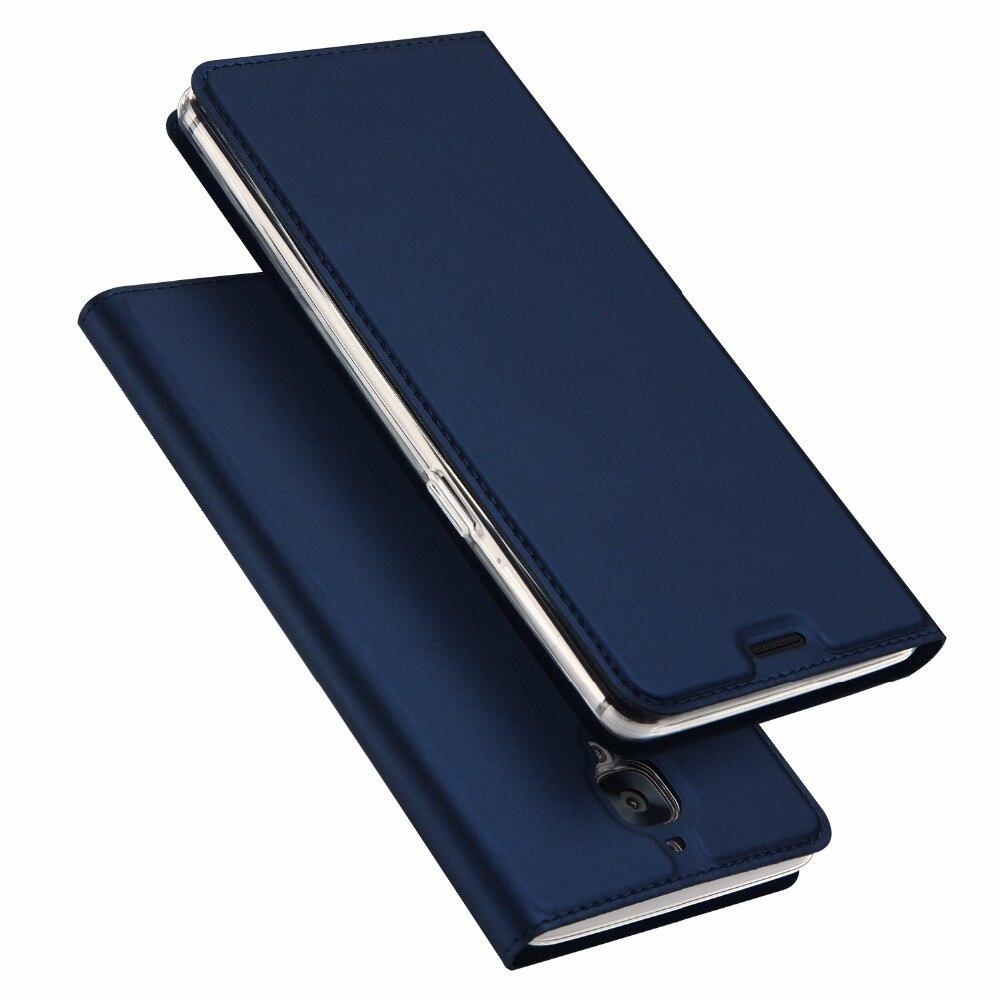 Un Plus 3 Cas En Cuir Flip Béquille Fonction Couverture De Luxe Couro Coque OnePlus Trois 3 T T Protecteur Téléphone Sac Cas Carcasa