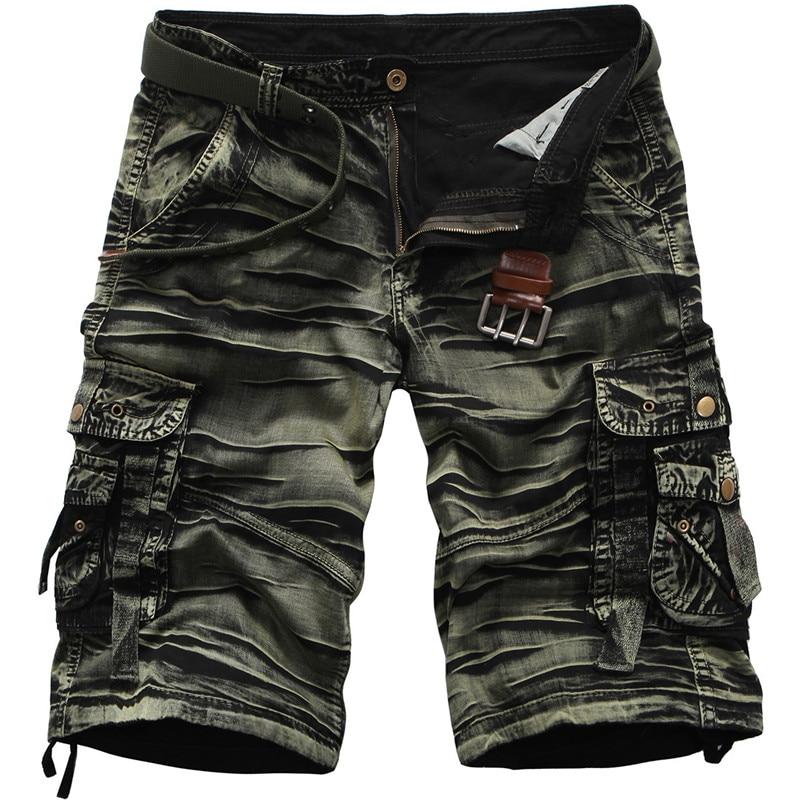 Shorts Man 2018 Summer Brand Fashion Mens Casual Bermuda Camouflage Short Pants Men Homme Printing Loose Cargo Shorts