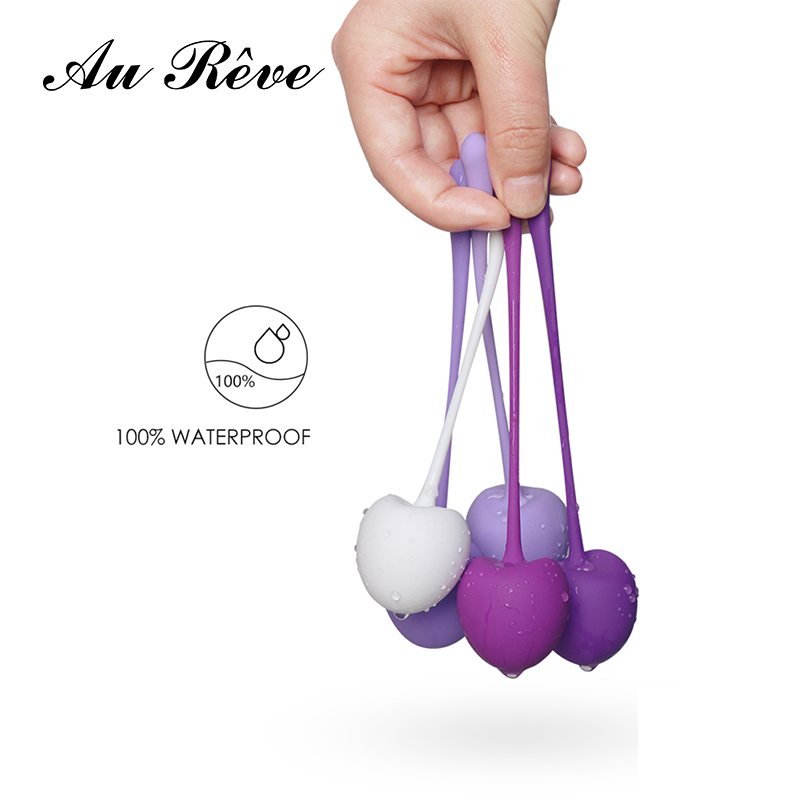 Smart Kegel Ball for Kegel Exercise Weights Bladder Control Pelvic Floor Exercises Set of 5 Premium Silicone Cones for Women 50 pcs crystal clear cello bags 39 5 cm x 45cm self adhesive opp cellophane bags