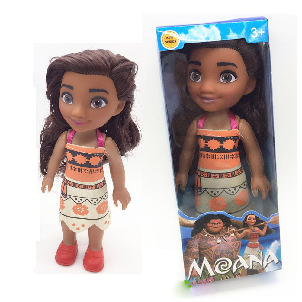 1 piece Moana Action Toy Figures 16cm Maui Chick Hanhan Heihei Pua Spotted Pig Action Figure Toys Pvc Model For Girls Kids Lover free shipping 6 styles cute kids cheese cat action figures mini cat pvc toys figures model toy best decoration for children