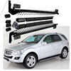 Car Running Boards Auto Side Step Bar Pedals For Mercedes Benz ML300 ML350 ML400 AMG 2006