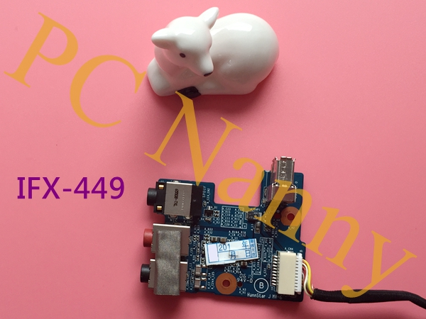 Genuine For SONY VAIO VGN-AR170G AR190G USB AUDIO BOARD MS20 1P-1064500-801 IFX-449 w/ CABLE