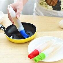 1 шт жидкого масла для печений торт Масло Хлеб кисточка для выпечки силиконовая кисть для масла кисточки для барбекю безопасность посуды щеточка для барбекю