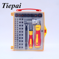 Tiepai 62 In 1 Dualdrive Ratchet Hardware Hand Tools Set Precision Screwdriver Set Multifunction Tablet PC