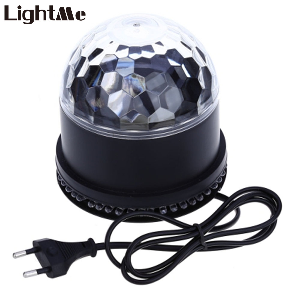 Color change online - Color Changing Rgb Projector Sound Sensor Led Laser Lamp 15w Mini Rotating Magic Ball Stage Light