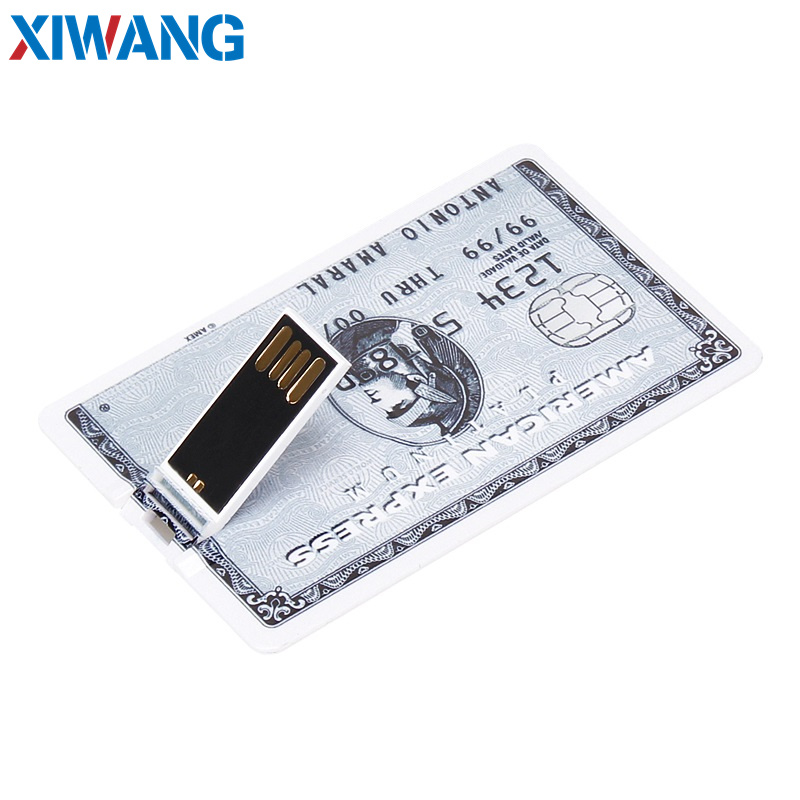 pendrive Bank Credit Card u disk new Waterproof Memory Stick drive 4GB 8GB 16GB 32GB 64GB 128GB USB Flash Drive free custom logo (3)