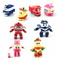4 Styles Robot Trains Action Figure Toys 12cm Kay Alf Dynamic Train Family Deformation Train Cars Kids Gifts Toys
