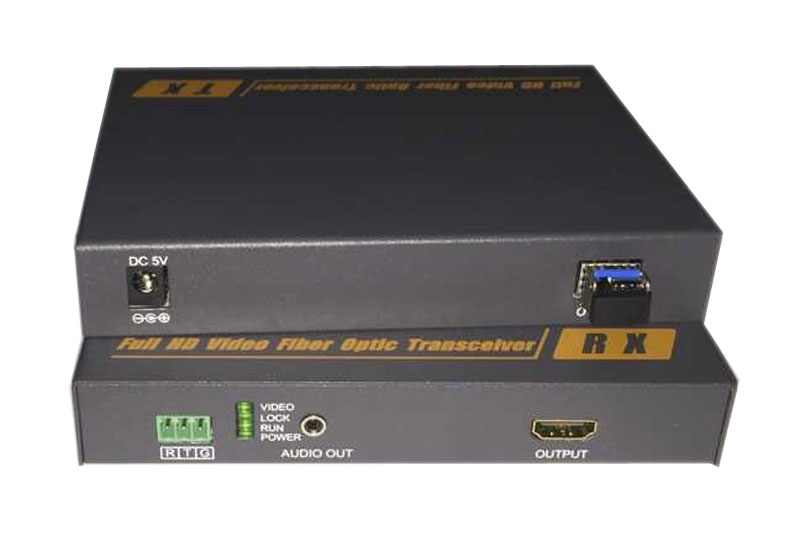 Non compressed HDMI Optical High definition audio and video Optical SFP interface HDMI with independent audio