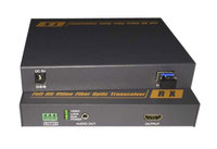 Non compressed HDMI Optical High definition audio and video Optical SFP interface HDMI with independent audio LC port