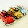 1:32 Hoja de metal modelo de Coche Escarabajo juguetes para niños de coches de tablas de surf de estilo Hecho A Mano